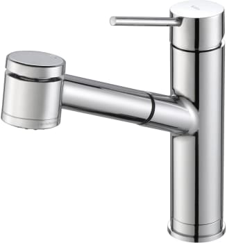 "Kraus Oletto Series KPF2610CH - Single Lever Pull Out Kitchen Faucet with 8 1/8"" Spout Reach"