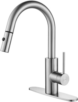 Kraus Mateo Series KPF2620CH - Single Lever Pull Down Kitchen Faucet with 8 11/16""