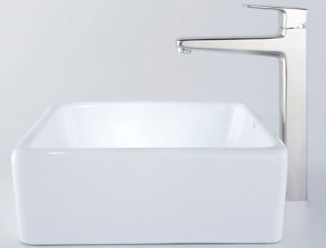 Kraus Virtus Series CKCV12015500BN - Square Ceramic Sink