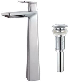 Kraus Aplos Series KEF15300PU10CH - Chrome Set