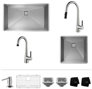 Kraus Crespo Series KHU3219272000CH - Chrome Set