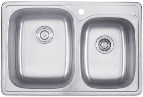 "Kraus KTM32 - 33"" Double Bowl Sink"