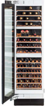 Miele MasterCool Series KWT1613SF - Miele KWT16 Wine Storage - Left Hinge Door Swing