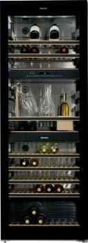 "Miele KWT6832SGS - Miele 28"" Tri-Zone Wine Storage with 178-Bottle Capacity"