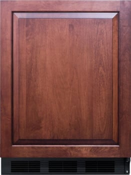 """AccuCold CT66BBIIFADA - 24"""" Built-in ADA-Compliant Compact Refrigerator, Ready for Custom Paneling and Handle"""
