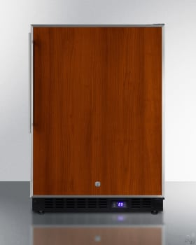 "Summit SCFF53BFRIM - 24"" Undercounter Freezer, Panel Ready with Ice Maker"