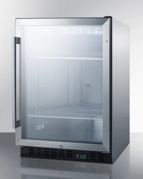 Summit Commercial Series SCR610BLCSS - Stainless Steel Cabinet