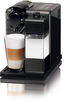 Nespresso Original Line EN550BK1 - Black Titanium Front View