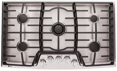 LG LCG3691ST - Cooktop View