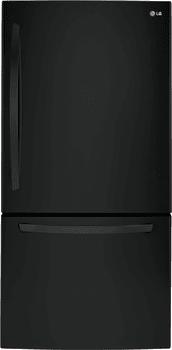 LG LDCS24223B - 33 Inch Bottom-Freezer LG Refrigerator