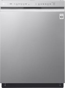LG LDF5545ST - LG's Full Console Dishwasher with QuadWash. Four spray arms use high-pressure jets to effectively wash dishes.