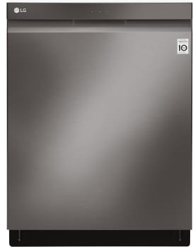 LG LDP6797 - Black Stainless Steel Front View