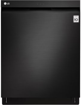LG LDP6797BM - Matte Black Stainless Steel Front View