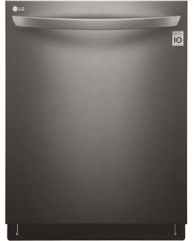 LG LDT5665BD - Fully Integrated Dishwasher in Black Stainless Steel from LG