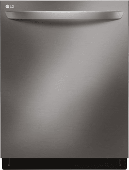 LG Signature Series LDT7797 - Black Stainless Front View