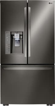 LG LFXS32736D - LG Black Stainless Steel Series French Door Refrigerator
