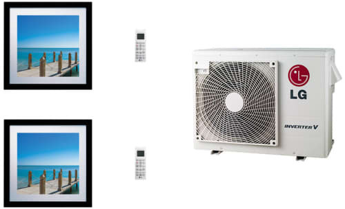 LG Art Cool Gallery LGARG24B2 - System Configuration