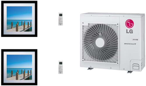 LG Art Cool Gallery LGARG36B12 - System Configuration