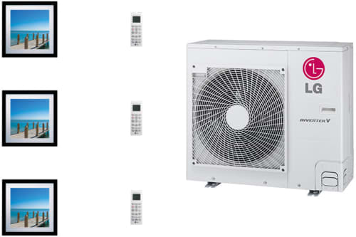 LG Art Cool Gallery LGARG36B11 - System Configuration