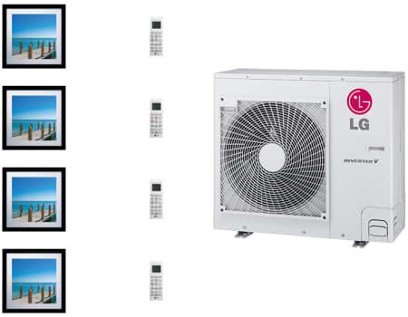 LG Art Cool Gallery LGARG36B1 - System Configuration