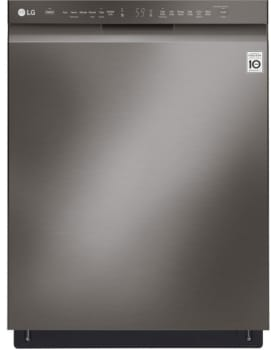 LG LDF5545BD - LG Front Control Dishwasher in Black Stainless Steel