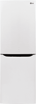 LG LBN10551SW - LG Counter Depth Refrigerator in Smooth White