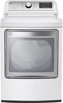 LG TurboSteam Series DLGX7601WE - White