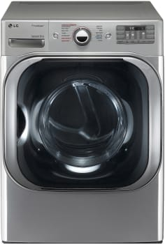 LG SteamDryer Series DLGX8101V - LG MEGA Capacity TrueSteam Dryer