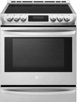 LG LSE4617ST - LG Electric Slide-In Range with Induction Cooktop