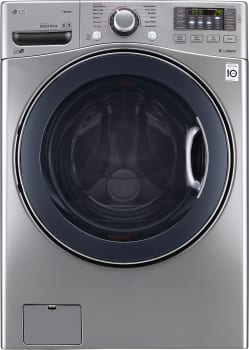 LG WM3770H - Front Load Washer in Graphite Steel from LG