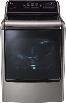 LG DLEX7710VE - MEGA Capacity Graphite Steel Dryer from LG