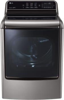 LG SteamDryer Series DLEX7710VE - MEGA Capacity Graphite Steel Dryer from LG