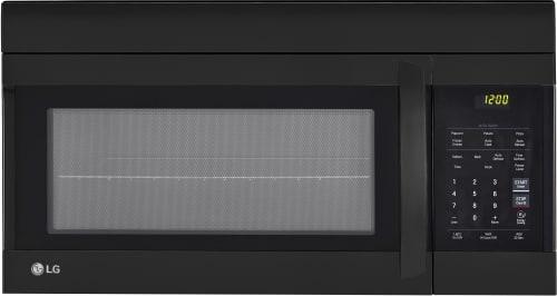 LG LMV1762SB - Over-the-Range Microwave in Smooth Black