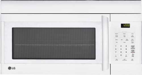 LG LMV1762SW - Over-the-Range Microwave in Smooth White