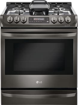 "LG LSG4513BD - 30"" Slide-in Gas Range with 5 Sealed Burners and 6.3 cu. ft. ProBake Convection Oven"