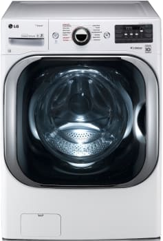 LG WM8100HWA - MEGA Capacity Front Load Washer