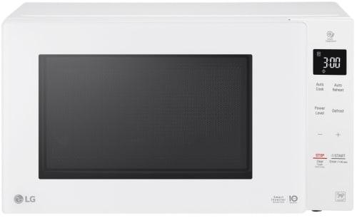 LG LMC1375SW - White Front View