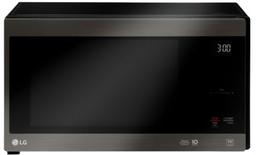 LG LMC1575BD - Black Stainless Steel Front View