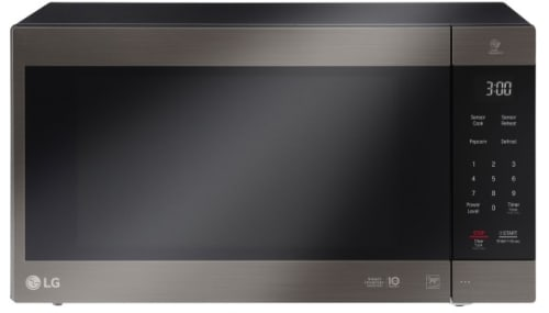 LG LMC2075 - Black Stainless Steel Front View