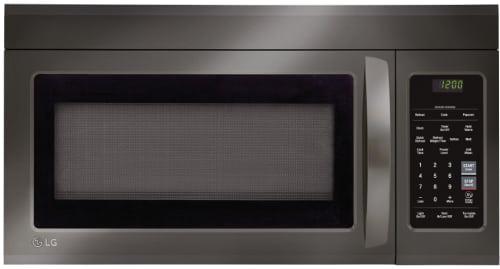 LG LMV1831BD - Black Stainless Steel Front