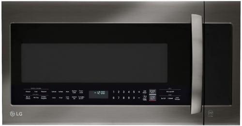 LG LMVM2033BD - Black Stainless Steel Front