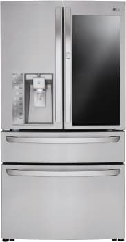 LG LMXC23796S - LG French Door Refrigerator with InstaView Door-in-Door and Custom Chill Drawer