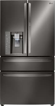 LG Diamond Collection LMXS30776D - LG French Door Refrigerator with Door-in-Door, Black Stainless Steel