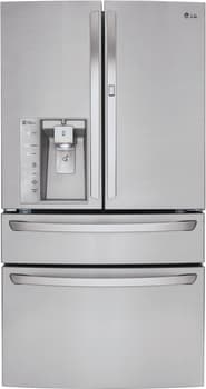 LG Diamond Collection LMXS30776S - LG French Door Refrigerator with Door-in-Door, Stainless Steel