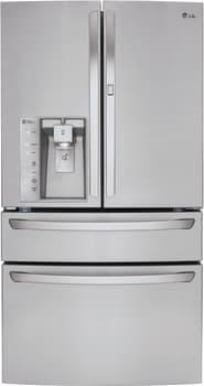 LG LMXS30776S - LG French Door Refrigerator with Door-in-Door, Stainless Steel