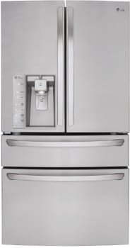 LG LMXS30786S - 30 cu. ft. French Door Refrigerator with CustomChill Drawer