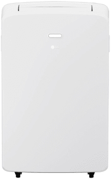 Lg Lp1017wsr 10 200 Btu Portable Air Conditioner With Water Full Indicator Oscillating Air Vent Auto Evaporation System Auto Restart 24 Hour Timer 2 5 Pts Hr Dehumidification Cooling Area Of 300 Sq Ft Silence Rating
