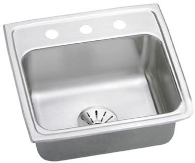Elkay Gourmet Perfect Drain Collection LR1919PD3 - Feature View