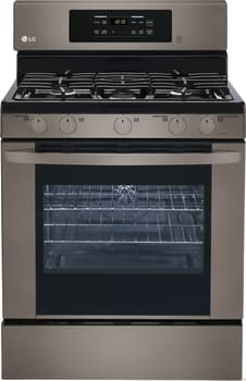 LG LRG3081S - Black Stainless Front