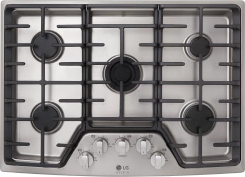 "LG Studio LSCG307ST - 30"" Gas Cooktop with 5 Sealed Burners"